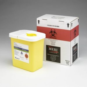Four, Two-Gallon Sharps Disposal Mailback Containers