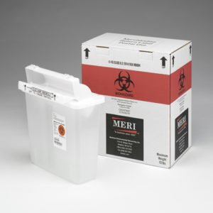 5 Quart Sharps Disposal Mailback Containers (Case Qty 4)