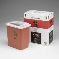 2 Gallon Sharps Disposal Mailback Containers (Case Qty 4)