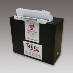 5-Quart Rugged Sharps Disposal System