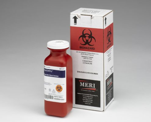 1.5 Quart Sharps Disposal Mailback Containers (Case Qty 12)