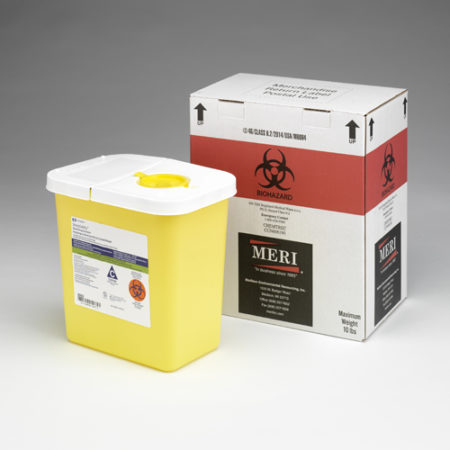 2 Gallon Trace Chemotherapy Disposal Mailback Containers (Case Qty 4)