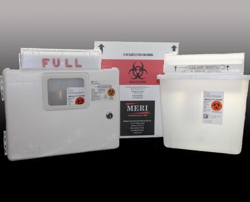 5-Quart Sharps Disposal System
