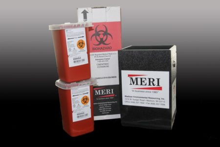 1-Quart Rugged Sharps Disposal System