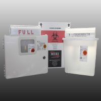 5 quart sharps disposal system