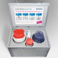 Safely Disposing Dental Amalgam Silver Service Disposal Box