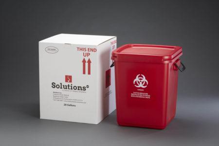 28 Gallon Biohazard Disposal Mailback Container
