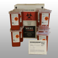 1 quart sharps disposal (qty 36))