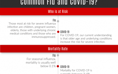 free poster: covid or common flu