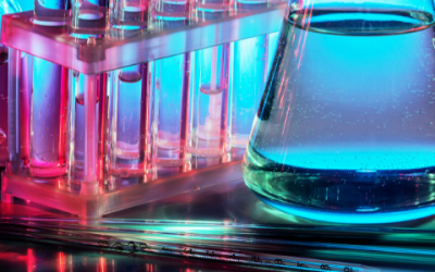 Glass beakers, test tubes, pipettes, lab waste disposal